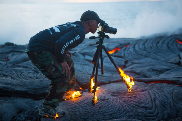 Extreme Places Photographers Visited to Take the Best Shots