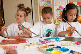 Painting Classes for Kids - Benefits